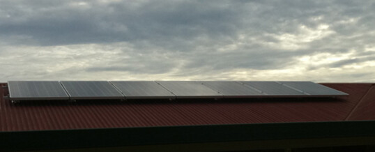Jeff and Brenda's 1.645kW system
